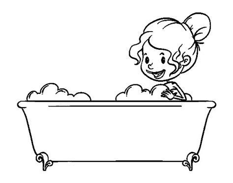 disegno di un bagno disegno di per fare il bagno da colorare acolore
