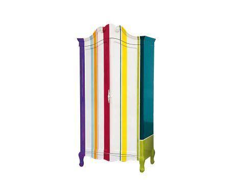 armadio mdf armadio in mdf trip wardrobe righe 104x210x58 cm mobili