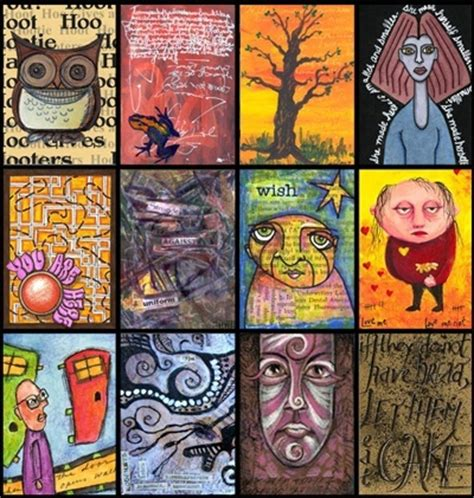 Gift Card Trading Site - artist trading cards artist trading card ideas pinterest