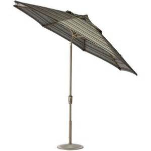 home depot patio umbrella home decorators collection 11 ft auto tilt patio umbrella