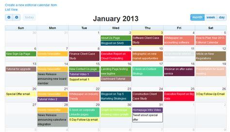 Editorial Calendar Template Docs Editorial Calendar For Content Marketing Software By