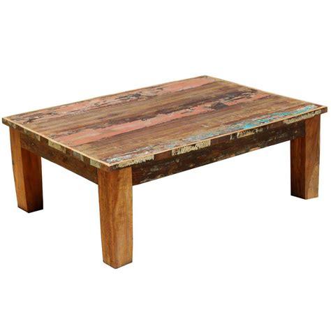 coffee table appalachian rustic mixed reclaimed wood coffee table
