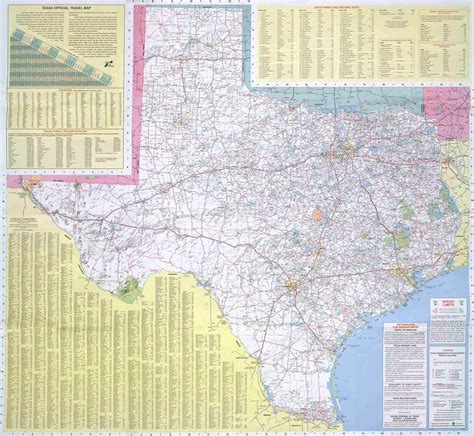 map od texas texas road map texas mappery