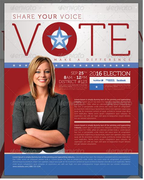 Election Brochure Template by 9 Election Brochure Templates Free Psd Eps
