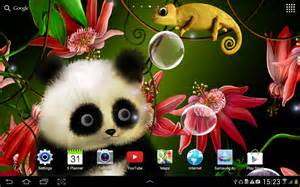 Living Room Live Wallpaper Apk Animated Panda Live Wallpaper Android Apps On Play