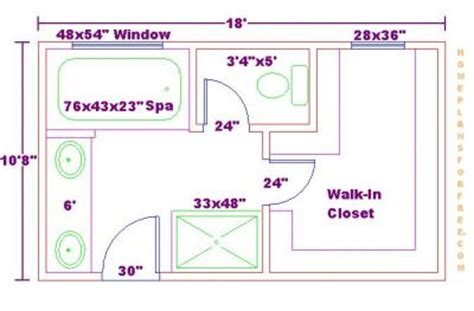 bathroom with walk in closet floor plan click to view full size image