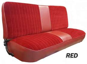 Seat Covers For Bench Seats In Trucks 1980 86 F Series Ford Truck Vinyl Cloth Bench Seat Cover