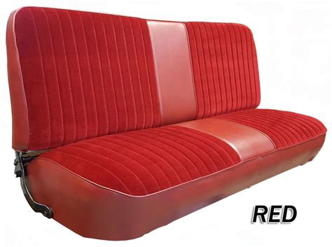 1980 86 F Series Ford Truck Vinyl Cloth Bench Seat Cover