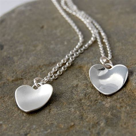 Handmade Silver Necklaces - silver handmade necklace by alison designs
