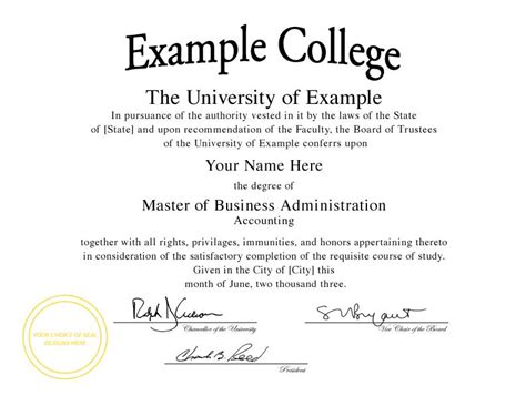degree certificate template buy a college degree