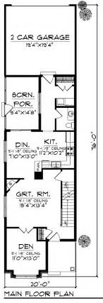 House Plans Small Lot by House Plan 72921 At Familyhomeplans Com