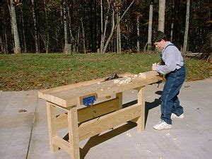 carpenters paper floor workbench woodworking