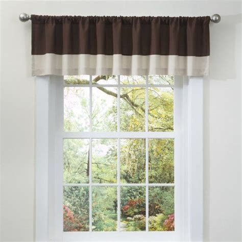 wide pocket valance curtain 17 best images about home kitchen window treatments on