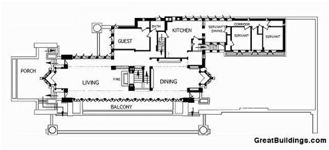 robie house floor plan gallery of ad classics frederick c robie house frank lloyd wright 10