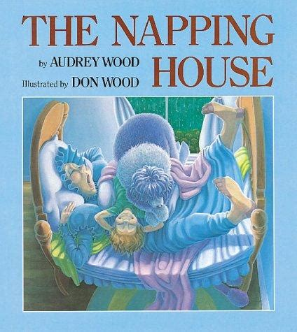 the house books on the napping house