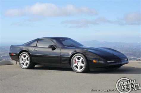 corvette c4 zr1 1991 corvette zr1 c4 pristine black rallyways
