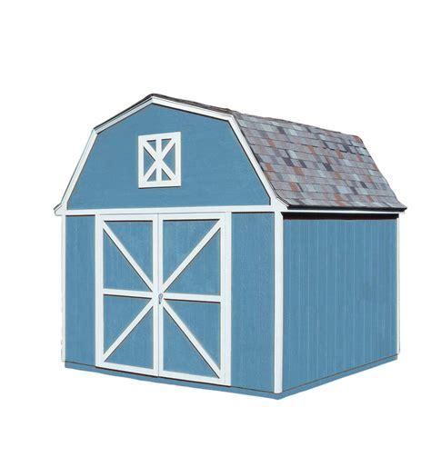 handy home berkley 10 215 12 wood storage shed kit w floor kit