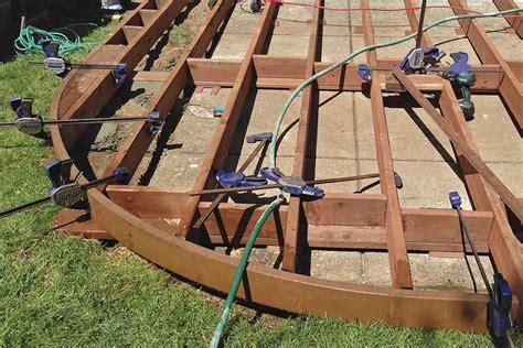 composite deck construction building curved decks professional deck builder design