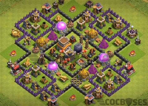 layout coc untuk war th 8 12 best th8 farming base 2018 new update anti everything
