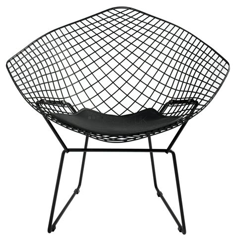 Bertoia Style Chair by Harry Bertoia Style Coloured Lounge Chair Style