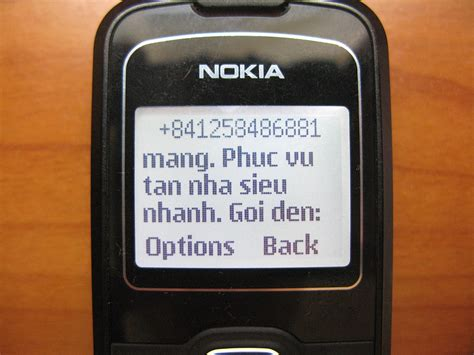 mobile phone spam
