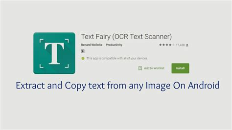 how to copy text on android how to extract and copy text from any image on android 2017