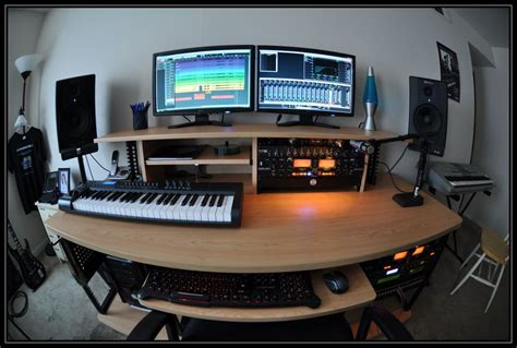 Bryan Lafrese Blog 12 Home Recording Studio Small Recording Studio Desk