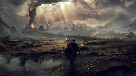 Landscape Character Definition Middle Earth Shadow Of Mordor Wallpaper Hd
