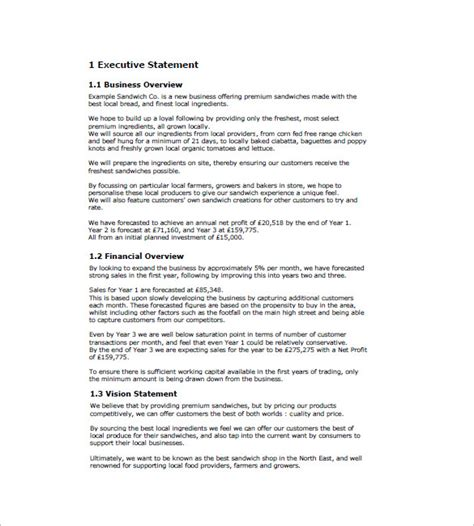 sle sales business plan template business marketing plan template 12 free word excel