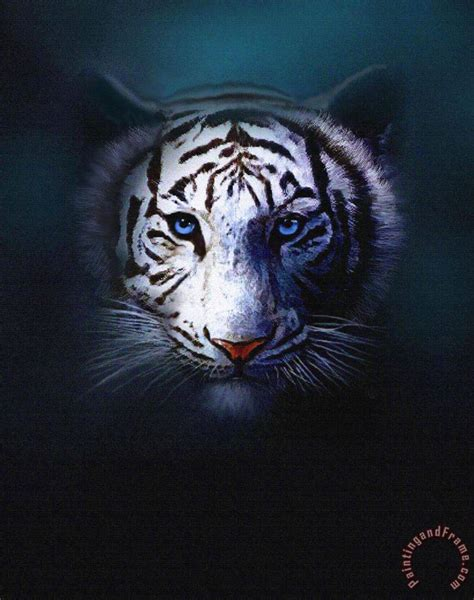 printable tiger eyes robert foster tiger eyes painting tiger eyes print for sale