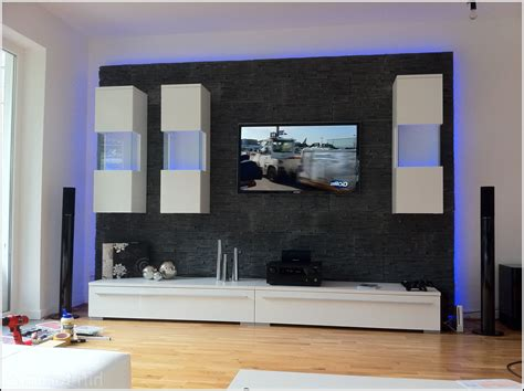 dekor wand awesome moderne wohnzimmer mit galerie ideas house