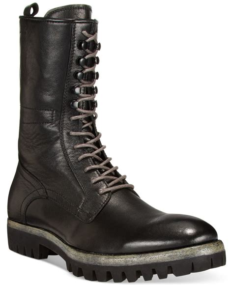 lug boots lyst kenneth cole fall fever high lug sole boots in