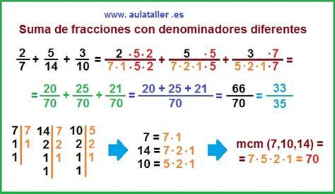 suma y resta de fraccionarios para nios de tercer grado matem 225 tica esp 237 ritu y arte suma de fracciones de