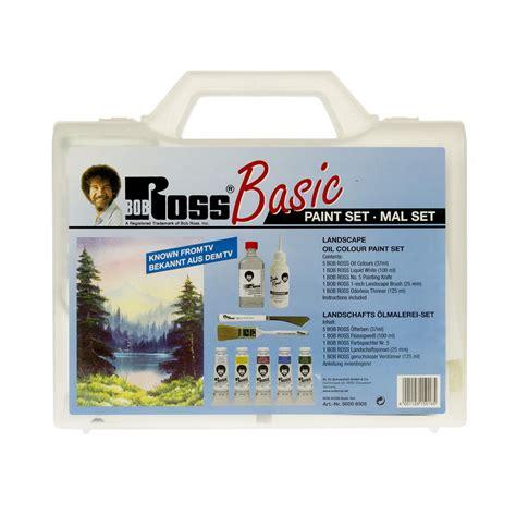 bob ross painting kit uk basic landscape paint set bob ross from craftyarts