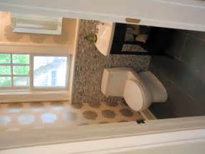 Half Bathroom Design by Stone Mosaic Half Bath In Meridian Kessler Wrightworks Llc