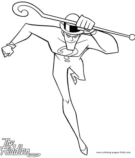 batman riddler coloring page the riddler coloring page batman color pages free