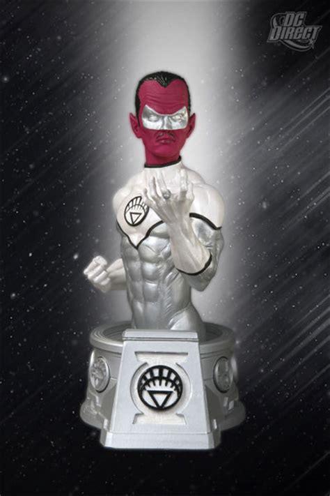 Dc Blackest White Lantern Sinestro Bust dc collectibles dc comics white lantern sinestro