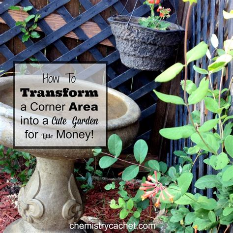 How To Transform A Small Backyard by How To Transform A Boring Backyard Corner For Money