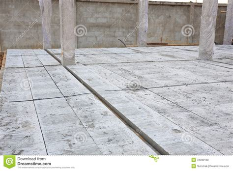 concrete floor slab panel stock photo image 41339160