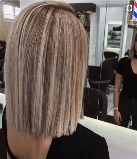 blunt cut hair styles medium length shoulder length blunt cut hair haircuts pinterest