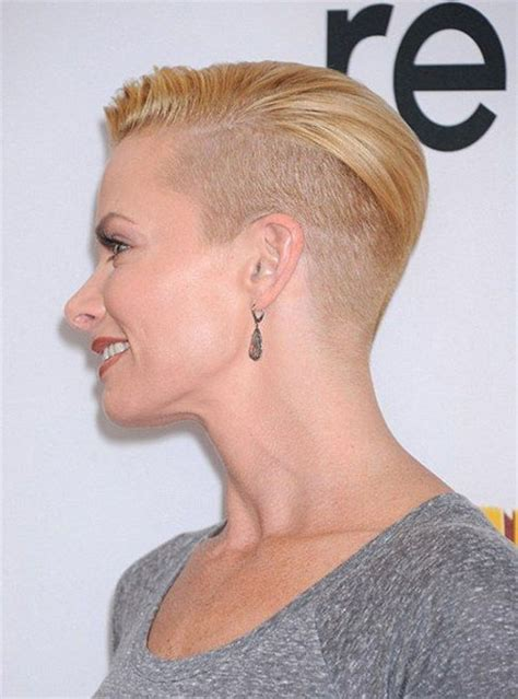 hair cuts that are shaved on both sides and long on the top for women short hairstyles for girls short hairstyles 2016 2017
