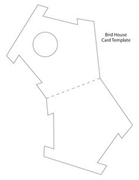 Birdhouse Template For Cards by Card Templates On Card Sketches Card