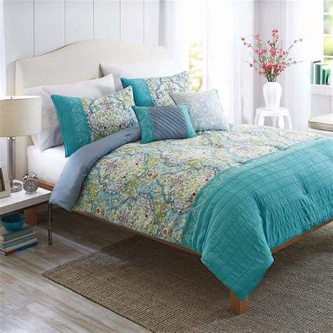 better bedding better homes and gardens watercolor damask 5 piece bedding