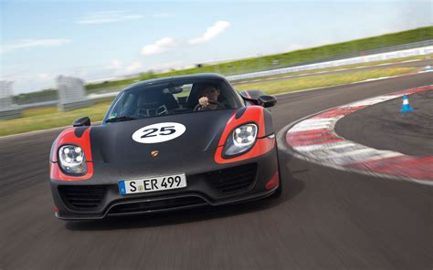 porsche 918 front porsche 918 spyder front view photo 22