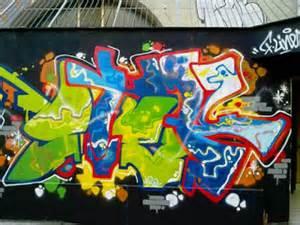 graffiti wall art march