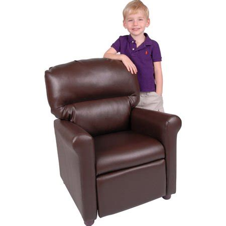 homes  gardens faux leather kids recliner