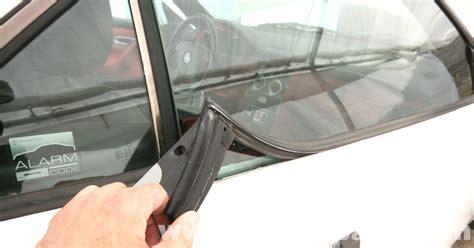 mercedes slk 230 door weather stripping replacement