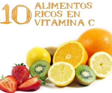 alimentos ricos en vitamina 10 alimentos ricos en vitamina c la gu 237 a de las vitaminas