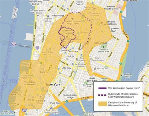 nyu map a cus comparison