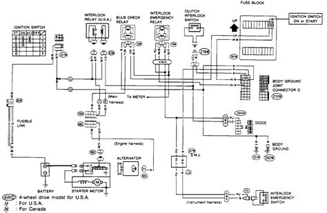 wiring diagram 96 nissan hardbody up get free image